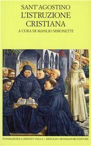 Libro L' istruzione cristiana Agostino (sant')