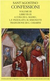 Le confessioni. Vol. 3: Libri 7-9.
