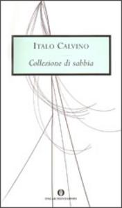 Libro Collezione di sabbia Italo Calvino