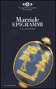 Foto Cover di Epigrammi, Libro di M. Valerio Marziale, edito da Mondadori