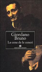 Libro La cena de le ceneri Giordano Bruno