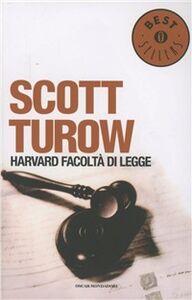Foto Cover di Harvard, facoltà di legge, Libro di Scott Turow, edito da Mondadori