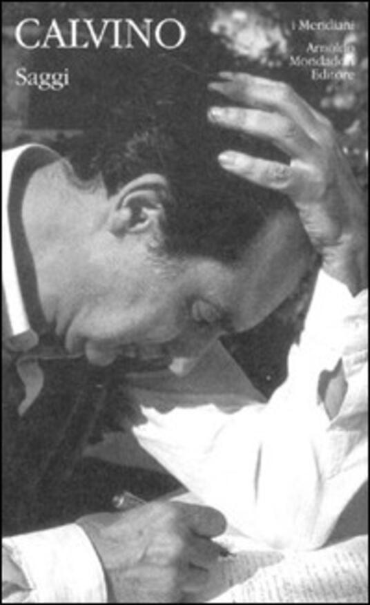 Saggi - Italo Calvino - copertina