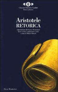 Libro Retorica Aristotele