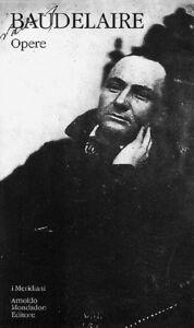 Foto Cover di Opere, Libro di Charles Baudelaire, edito da Mondadori