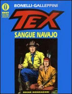 Foto Cover di Tex. Sangue navajo, Libro di Gianluigi Bonelli,Aurelio Galleppini, edito da Mondadori