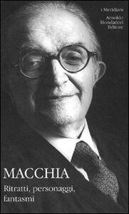 Libro Miti, personaggi, fantasmi Giovanni Macchia