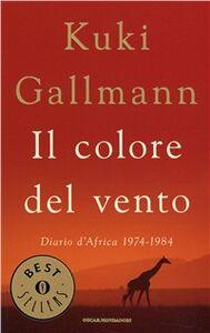 Libro Il colore del vento Kuki Gallmann