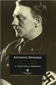 Hitler - Antonio Spinosa - copertina
