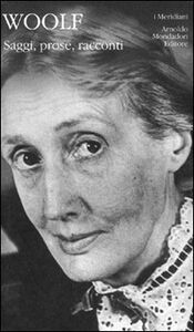 Libro Saggi, prose, racconti Virginia Woolf