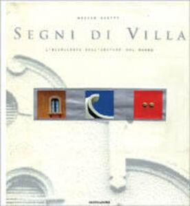 Libro I segni della villa Ovidio Guaita