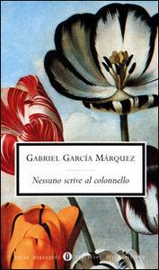 Libro Nessuno scrive al colonnello Gabriel García Márquez