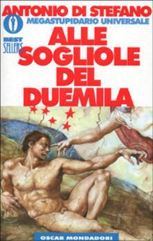 Alle sogliole del Duemila - Antonio Di Stefano - copertina