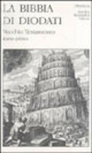 Foto Cover di La Sacra Bibbia. Vol. 1, Libro di Giovanni Diodati, edito da Mondadori