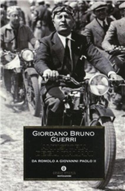 Antistoria degli italiani. Da Romolo a Giovanni Paolo II - Giordano Bruno Guerri - copertina