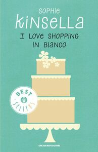 Libro I love shopping in bianco Sophie Kinsella