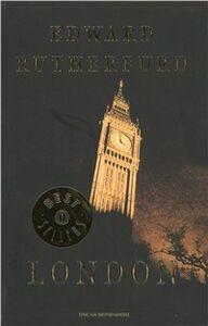 Foto Cover di London, Libro di Edward Rutherfurd, edito da Mondadori