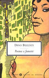 Foto Cover di Poema a fumetti, Libro di Dino Buzzati, edito da Mondadori