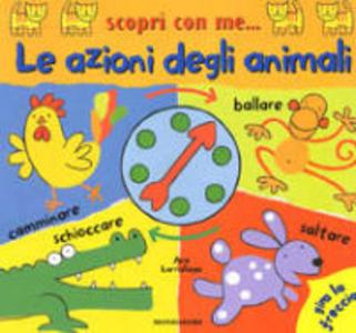 Libro Le azioni degli animali Ana Martin Larranaga