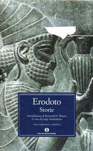 Foto Cover di Storie, Libro di Erodoto, edito da Mondadori