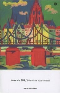 Libro Biliardo alle nove e mezzo Heinrich Böll