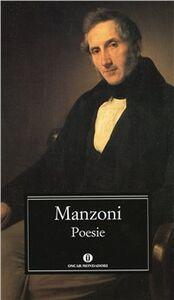 Libro Poesie Alessandro Manzoni