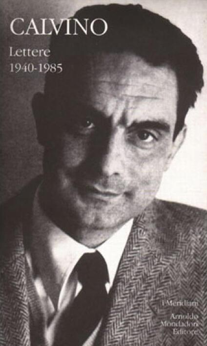 Lettere 1940-1985 - Italo Calvino - copertina