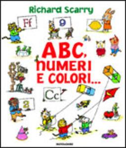 ABC, numeri, colori
