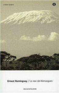 Libro Le nevi del Kilimangiaro Ernest Hemingway