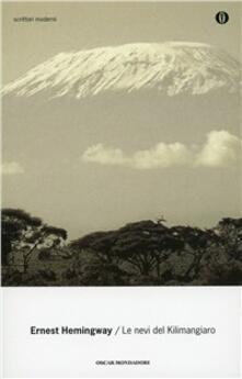 Le nevi del Kilimangiaro - Ernest Hemingway - copertina
