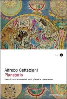 Planetario - Alfredo Cattabiani - copertina
