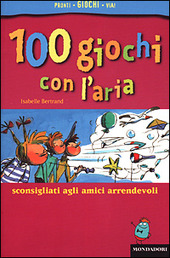 Copertina  100 giochi con l'aria