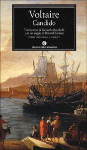 Foto Cover di Candido ovvero l'ottimismo, Libro di Voltaire, edito da Mondadori