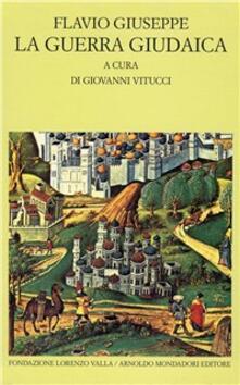 La guerra giudaica - Giuseppe Flavio - copertina