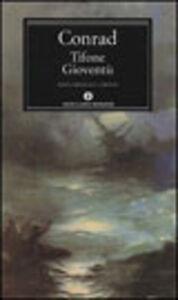 Libro Tifone-Gioventù Joseph Conrad