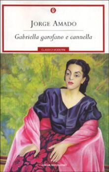 Gabriella garofano e cannella - Jorge Amado - copertina