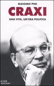 Libro Craxi Massimo Pini