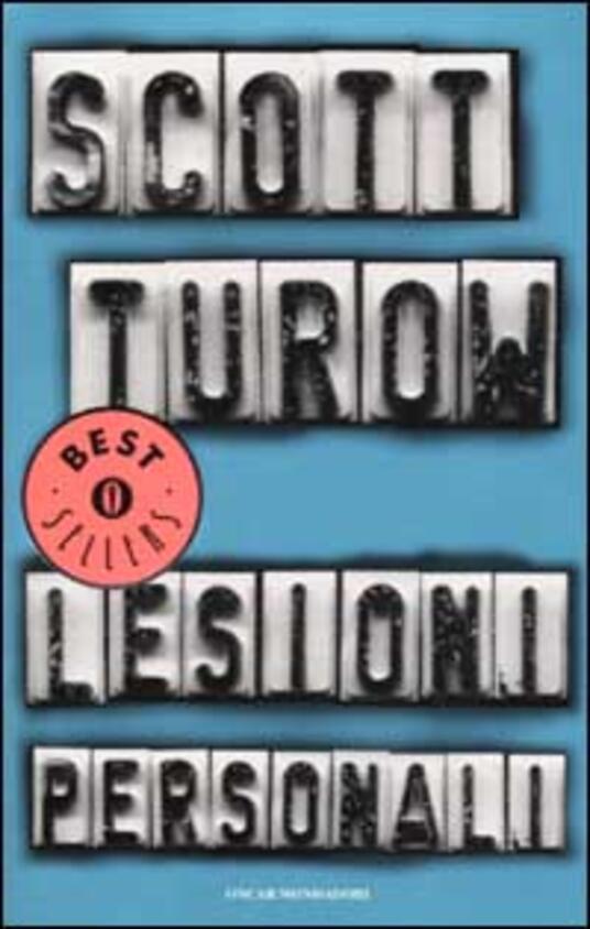Lesioni personali - Scott Turow - copertina