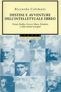 Libro Destini e avventure dell'intellettuale ebreo Riccardo Calimani