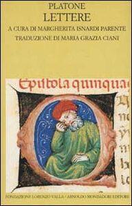 Libro Lettere. Testo greco a fronte Platone