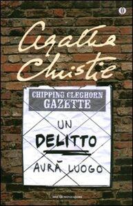 Foto Cover di Un delitto avrà luogo, Libro di Agatha Christie, edito da Mondadori