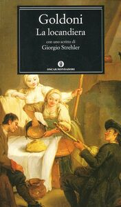 Foto Cover di La locandiera, Libro di Carlo Goldoni, edito da Mondadori