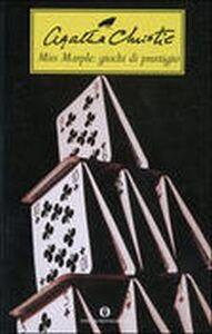 Foto Cover di Miss Marple: giochi di prestigio, Libro di Agatha Christie, edito da Mondadori