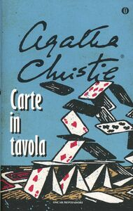 Libro Carte in tavola Agatha Christie