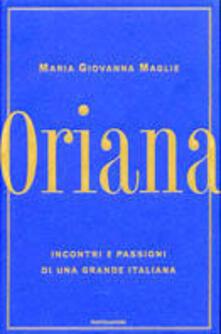 Ilmeglio-delweb.it Oriana. Incontri e passioni di una grande italiana Image