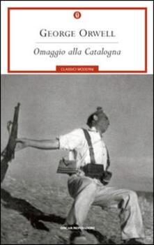 Omaggio alla Catalogna -  George Orwell - copertina