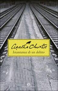 Libro Istantanea di un delitto Agatha Christie