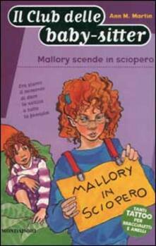 Voluntariadobaleares2014.es Mallory scende in sciopero Image