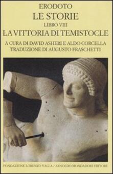 Aboutschuster.de Le storie. Libro 8°: La vittoria di Temistocle. Testo greco a fronte Image