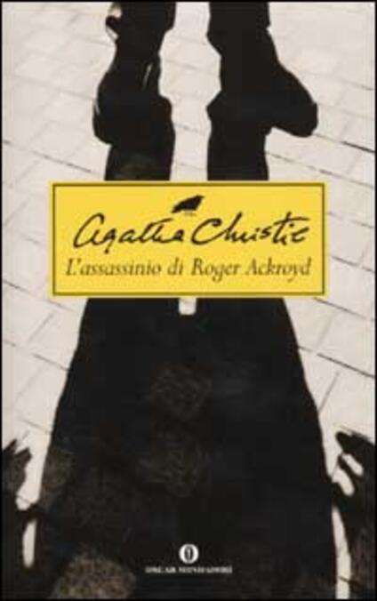 L' assassinio di Roger Ackroyd - Agatha Christie - copertina